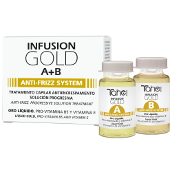 TRATAMIENTO CAPILAR ANTIENCRESPAMIENTO INFUSION A+B GOLD (2x10 ml)